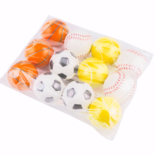 Hand Basketball Baseball Football Tennis Exercise Soft Elastic Squuze Stress Reliever Ball Kid Small Toys