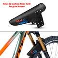 Новинка, аксессуары для горного велосипеда, брызговик, 3D углеродное волокно, Twill, велосипедный горный велосипед, крылья, задние брызговики, к...