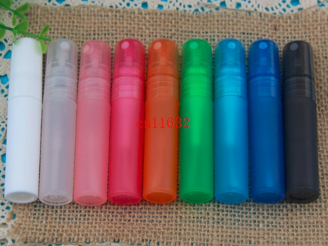 Free Shipping 5ml Translucence Plastic Atomizer Bottle Travel Makeup Perfume Spray Refillable Bottles 5000pcs lot
