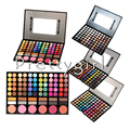 2016 New 88 Color Eyeshadow Palette satin matte Eye shadow Makeup kit Set 5 styles options Hot sale For eye Makeup Smoky eye