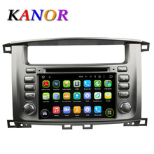 1024*600 Autoradio Android 5.11 Car DVD Player For Toyota Land Cruiser 100 Lexus 470 Automotivo Radio Cassette GPS Navigator