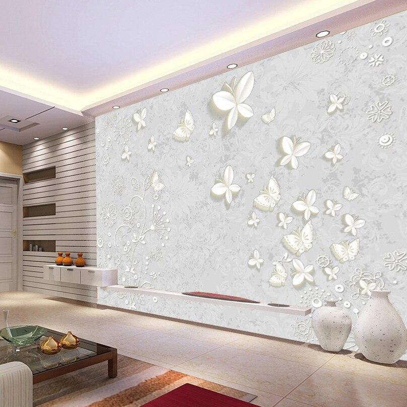 papillon rev tement mural promotion achetez des papillon rev tement mural promotionnels sur. Black Bedroom Furniture Sets. Home Design Ideas