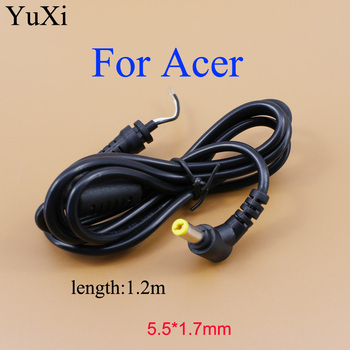 YuXi DC Plug 5.5*1.7mm / 5.5x1.7mm DC Power Supply Cable for Lenovo for Acer Toshiba Acer Laptop Charger DC Cable 5.5*1.7 5 5x1 7mm dc power conector acer dc charger plug cable connector for acer laptop adapter free shipping free shipping