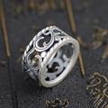 Ван Yinshi S990 серебра кольцо оптовая продажа серебряный олень античная матовая процесса новые стили влюбленных