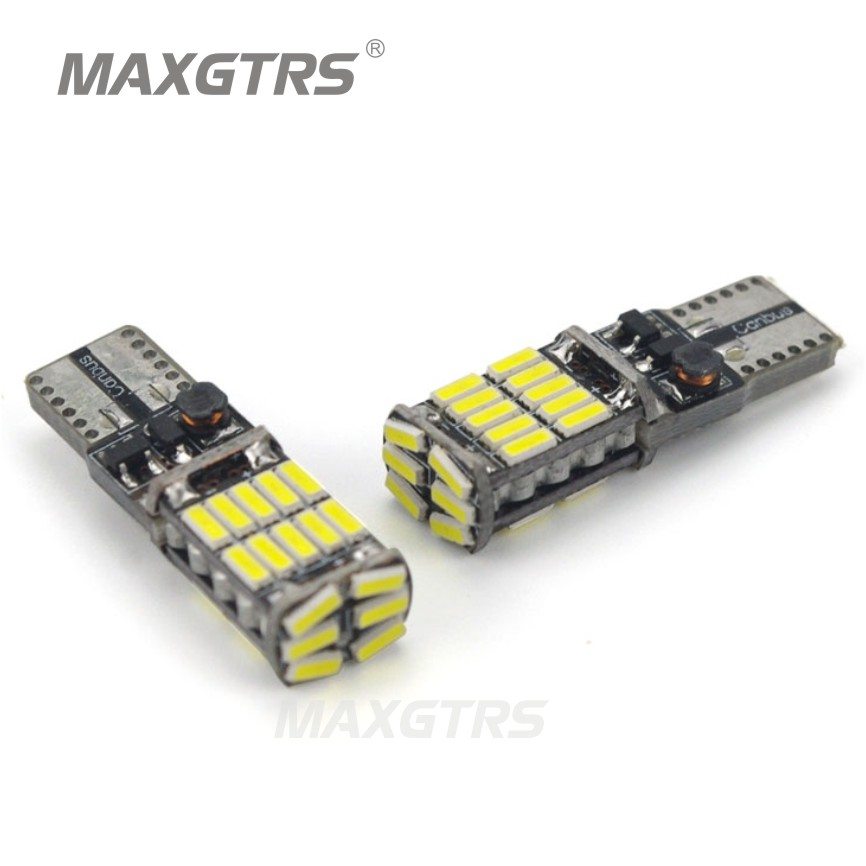 2x T10 194 168 W5W 4014 26SMD Car LED Replacement Bulbs ...