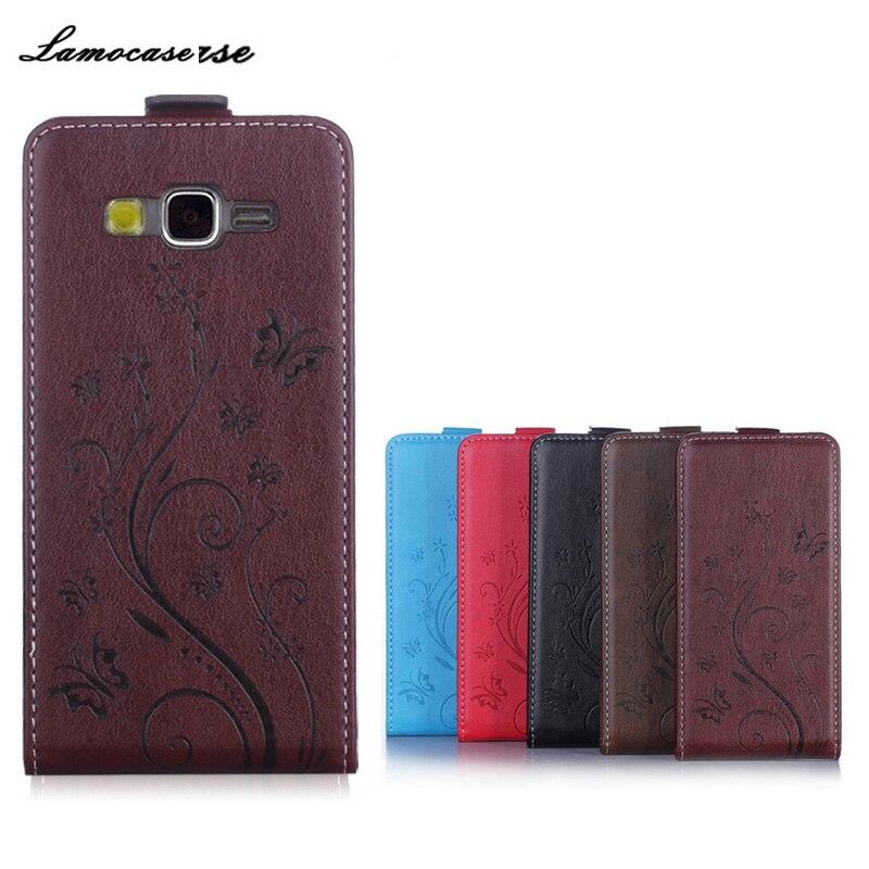 Cas Pour Samsung G530 Couverture en cuir Flip Cas Pour Samsung Galaxy Grand-Premier G530H SM-G530H G530W G5308W G531 G531H SM-G531F sac
