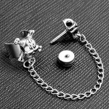 Steel Skull Cuff Wrap Earring (1 piece)
