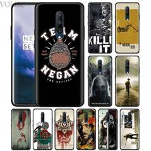 The Walking Dead TV SHOW Phone Case for Oneplus 7 7Pro 6 6T Oneplus 7 Pro 6T Black Silicone Soft Case Cover