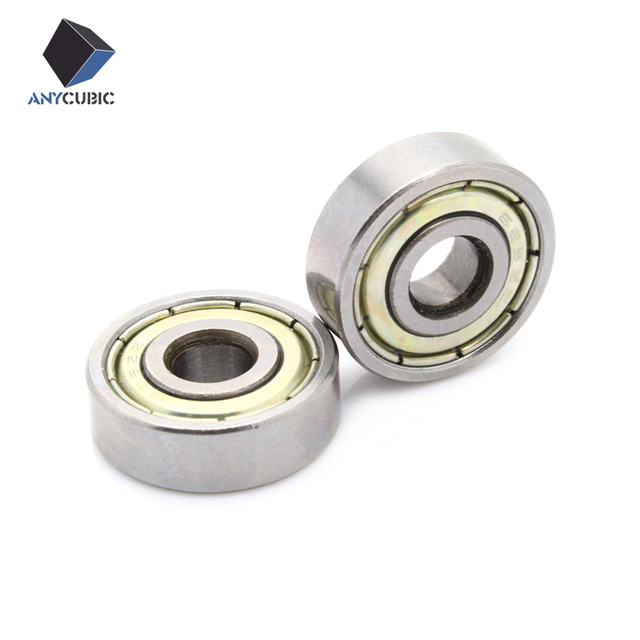 Anycubic 10pcs Miniature deep groove ball bearing 625ZZ 5x16x5 mm for 3d printer Freeshipping