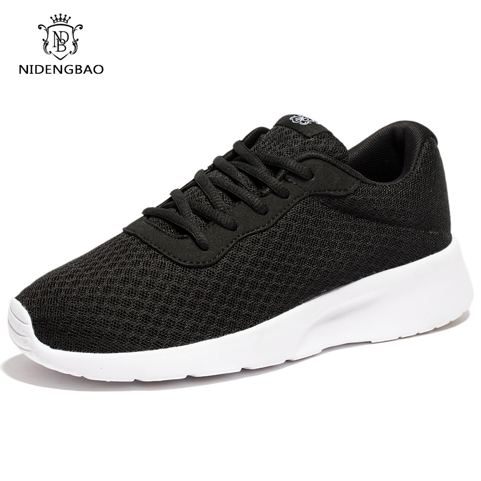 Mens Walking Shoes Breathable Spring Summer Mesh Casual ...