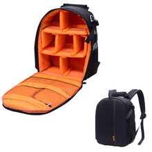 Camera Dslr Bag Waterproof New Pattern DSLR Camera Bag Backpack Video Photo Bags for Camera d7100 Small Compact Camera Backpack