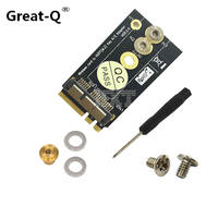 Great Q High Quality BCM94360CS2 BCM943224 12 6 Pin Wireless Card To NGFF Key A E