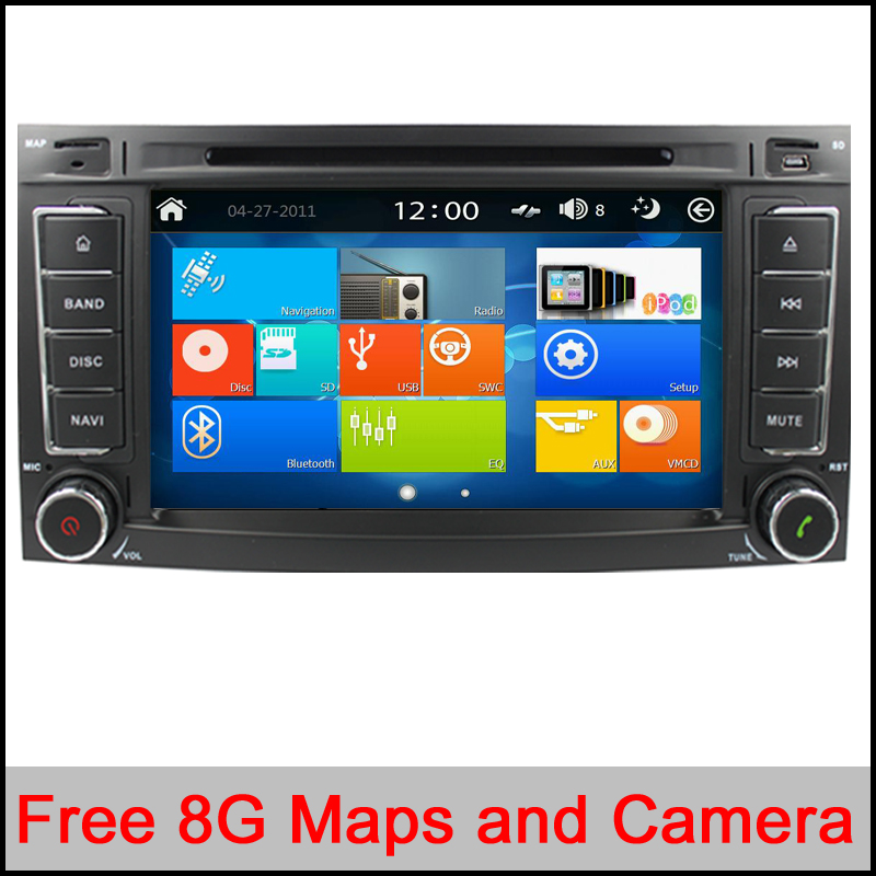 Win8 UI Capacitive font b Car b font DVD Radio GPS Player for Volkswagen VW Touareg