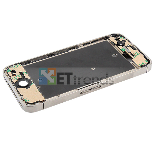 Metal Middle Plate Assembly for iPhone 4S - White  (6).jpg