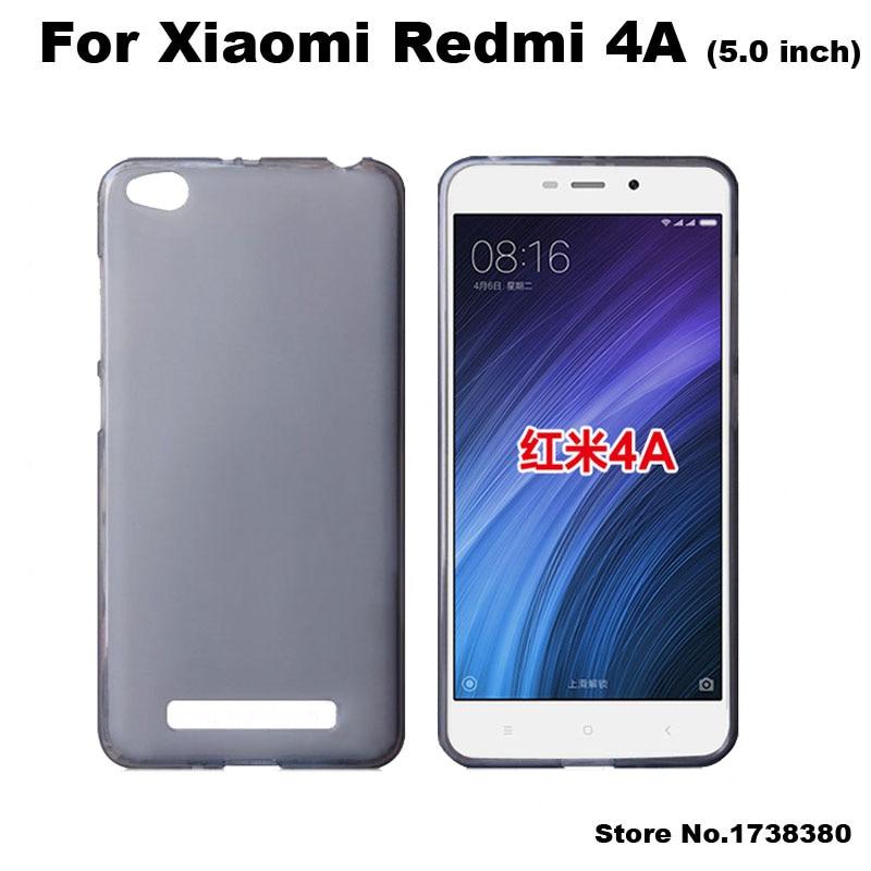 Xiomi Xiaomi Redmi 4A Case Cover 5.0 inch Matte TPU Soft ...
