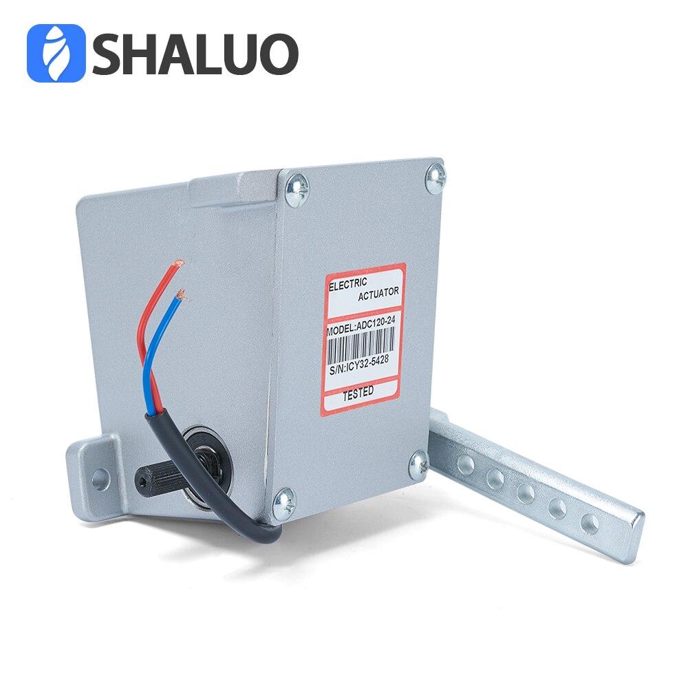 ADC120 В 12 В в 24 в электронный контроллер моторный привод govornor топливный насос дизельный генератор часть линейный rotork внешний тип привода