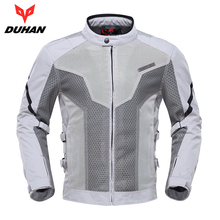 Motorcycle Jacket Breathable Motocross Clothing Summer Moto Jacket Motorbike Jaqueta Motoqueiro With Protector Guard new arrival motorcycle jacket summer motorbike men racing jacket breathable motocross jackets with 5 protection pads