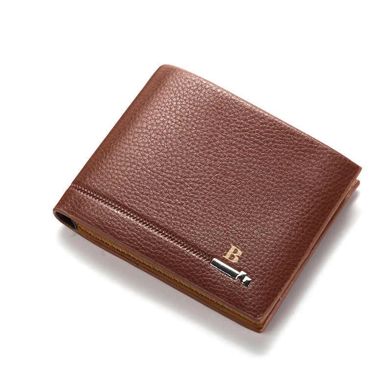 db6c2b7b4b97 ... 2018 Luxury Brand Zipper Business Men Wallets Leather Men Purses Mens  Clutch Wallet Men Trifold Money ...