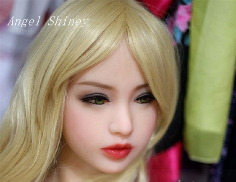 Top New head for solid silicone sex doll, japanese realistic sex dolls, love doll heads, life size sex toyTop New head for solid silicone sex doll, japanese realistic sex dolls, love doll heads, life size sex toy
