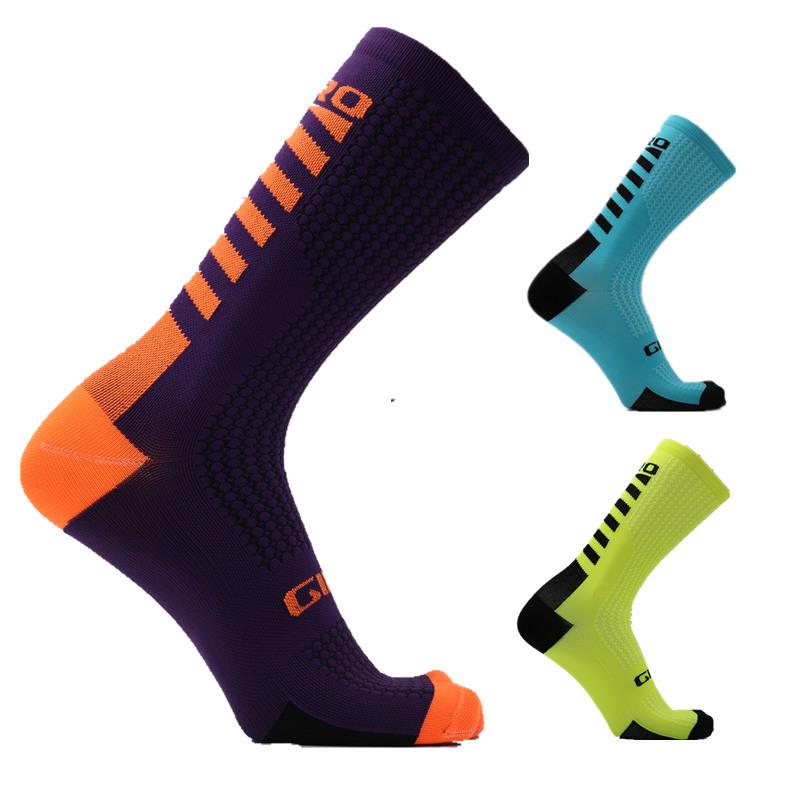 Outdoor riding socks, men and women, anti-friction, tube socks, cycling, basketball, soccer socks