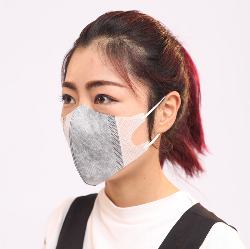 Masks Activated Carbon Mask Medical Face Mouth Respirator For Cycling Bike Bicycle Dust Pollution Pm 2.5 Dustproof Disposable
