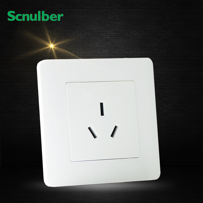 air condition 50HZ 16A 250V 3 Poles 3pin AU wall switch outlet socket