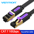 Vention Ethernet Cable RJ 45 Cat7 Lan Cable STP Network Cable 1M 2M 3m 5m 8m 10m 15M Patch Cord Cable for PC Router Laptop Cat 7