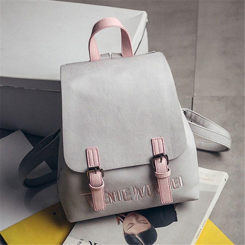 Brand 2018 new preppy style rucksack hotsale women joker shopping shoulder lady bookbag travel bag student school backpacks 975