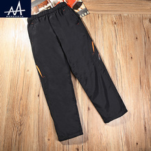 Spring Autumn Children Pants Waterproof Trousers 10Y Child Sportswear Pants Big Boys TrackPants Activity Outdoor Pants for Boys