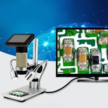 ADSM201 HDMI 3.0-inch 3MP 1080P Digital Microscope Electronics Inspection Device Magnifier for PCB Repairing