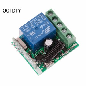 Image 5 - 315M or 433M  Universal  Wireless Remote Control Switch DC12V 1CH Relay Receiver Module + 2 RF Transmitter