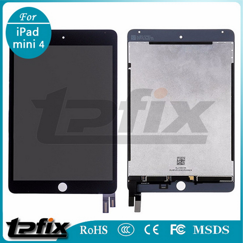 DHL TPFIX LCD For iPad mini 4 A1538 A1550 Front Assembly LCD Display Touch Screen Digitizer Glass Panel Tactil Ecran Replacement dhl ems new nc9000f lcd touch screen glass panel 90 days warranty e2