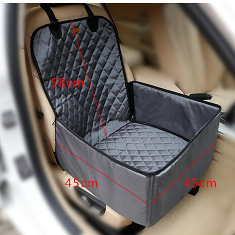 Pet Bucket Seat Cover Booster 2 in 1 Deluxe Dog& Cat Front for Cars Non- Slip Backing Waterproof Carrier AprT4