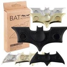 Black Batman 2017 New Fidgets Toy EDC Sensory Fidget Spinner Kids Adult Funny Anti Stress Toys