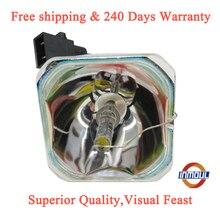 Uhe 200e2 c A + qualidade e Brilho 95% lâmpada do projetor para EPSON ELPLP54 ELPLP56 ELPLP57 ELPLP58 ELPLP60 ELPLP61 ELPLP68