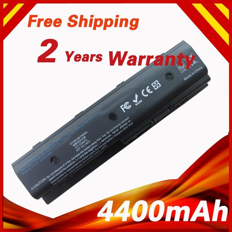 Batterie d'ordinateur portable Pour HP MO06 H2L55AA Envy dv4 dv4-5200 dv6 dv6-7200 Pavilion dv4 dv4-5000 dv6 dv6-7000 dv7 mo06 mo09