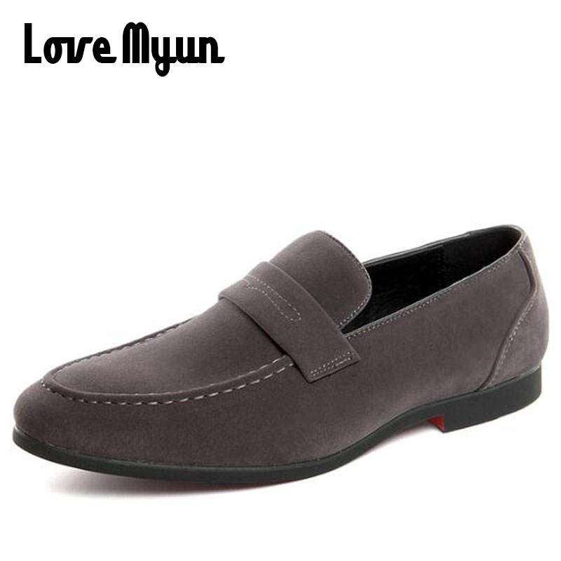 New Men Flats boat driving shoes Male Casual Shoes High Quality Men Loafers Moccasin Driving Shoes Suede Leather 47 48 KK-34 все цены