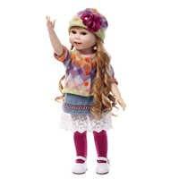 NPKCOLLECTION 18 дюймов reborn poppen девочка кукла силиконовые куклы rebor детские игрушки для детей куклы детские reborn куклы для