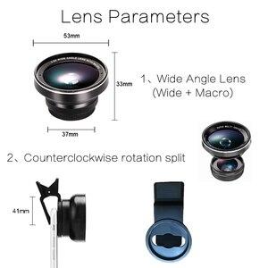 Image 3 - TOKOHANSUN kamera lens 4k HD 0.6x geniş açı + 15x makro Lens IPhone 7 6s 5s 8 X XS se artı cep telefonu akıllı telefon