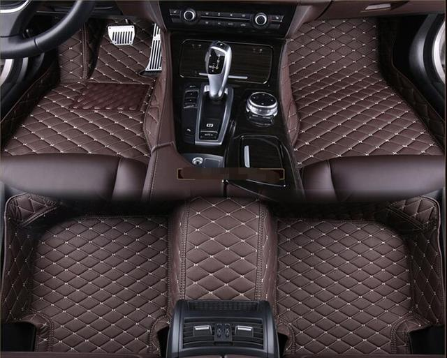 Custom Special Floor Mats For Ford Expedition Seats  Waterproof Carpets