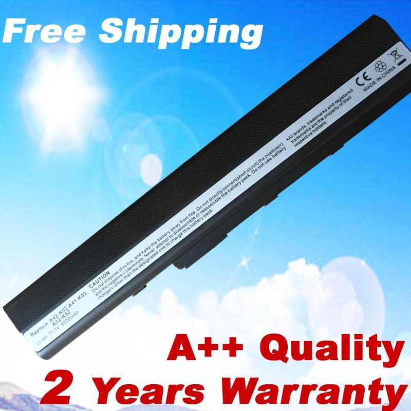 где купить 6 cells laptop battery for asus K52J K52F K52 A31-K52 A32-K52 A42-K52 A52F A52J A52JR A52JK K42F K42JB K42JR K42JV X52J по лучшей цене