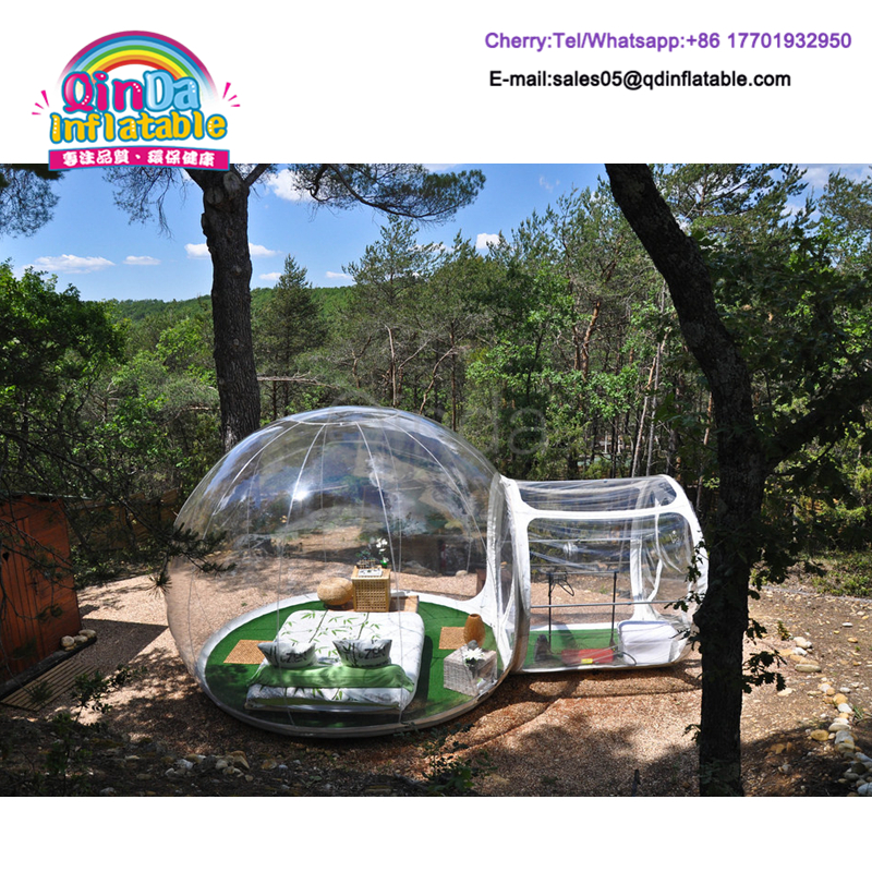 Beautiful Design Outdoor Camping Inflatable Lawn Clear Bubble Tent For  Sale(China (Mainland)
