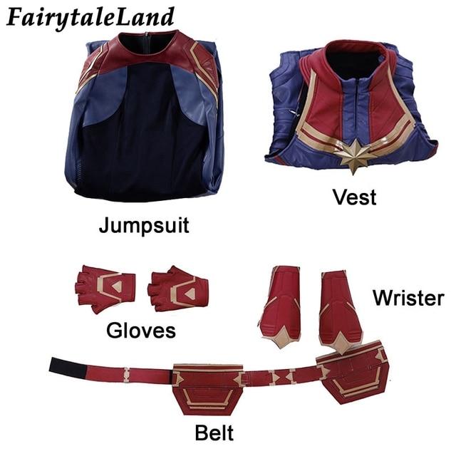 Captain Marvel Costume 2