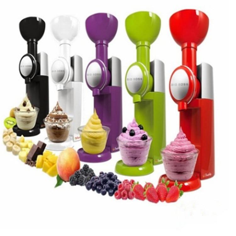 Big Boss swirlio automática fruta postre fruta helado batido máquina herramienta