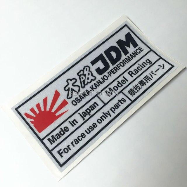 Car Stickers For Race Use Japanese Jdm Osaka Kanjo Performance Car