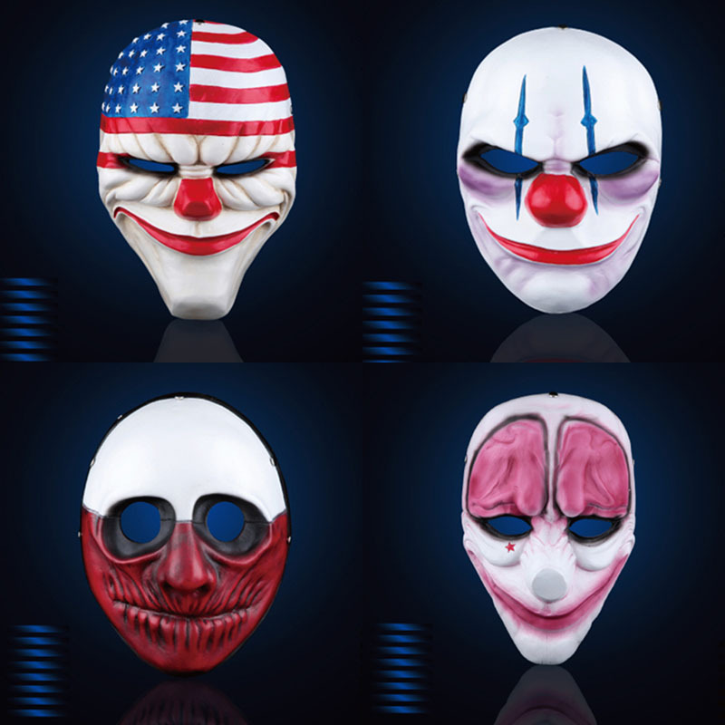 Fancy A Payday Www Fancyapayday Co Uk: New Payday Mask Halloween Resin Mask Payday 2 Cosplay Mask