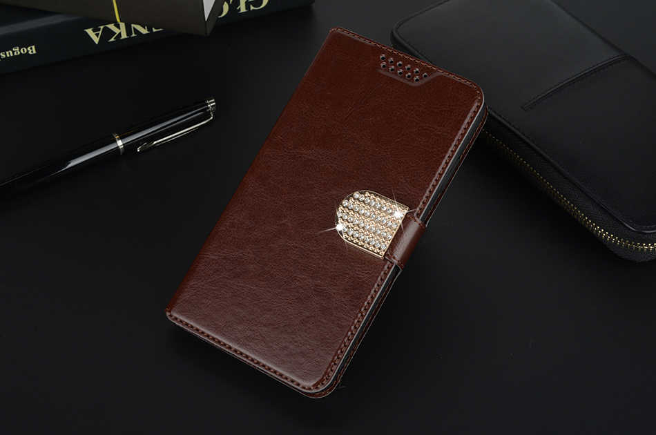 Para LG Magna H500 G4C G4 mini H525N C90 H520N H502F H500F caso de lujo de cuero Flip Case para LG G4 H818 H810 funda de silicona