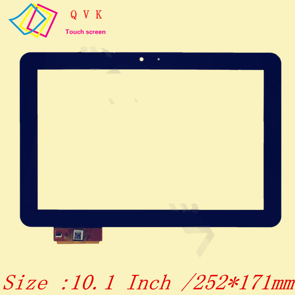 Black 10.1 Inch for DNS AirTab M100qw tablet pc capacitive touch screen glass digitizer panel Free shipping new 7 inch tablet capacitive touch screen replacement for dns airtab m76 digitizer external screen sensor free shipping