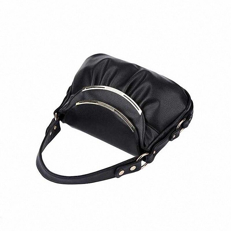 Genuine Leather Women's Messenger Bags Patchwork Luxury Handbags MAMA Shoulder Bags Crossbody Bags LI-616