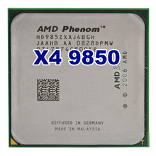 Original AMD CPU Phenom X4 9850 processor 2.5G K10 Socket AM2+/ 940 Pin /Dual-CORE / 2MB L3 Cache 95W